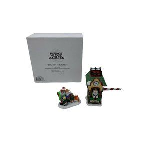Dept 56 North pole accessories End of the line HVC